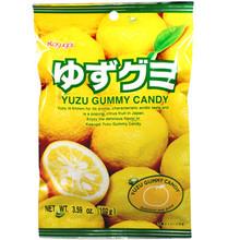Kasugai Yuzu Gummy 3.59 oz  From Kasugai