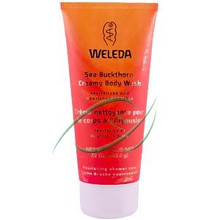 Sea Buckthorne Creamy Body Wash, 6.8 OZ, Weleda Products