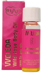 Wild Rose Body Oil, Trial, 0.34 OZ, Weleda Products
