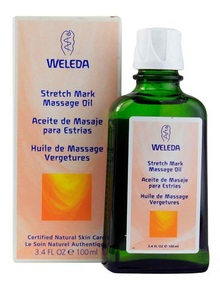 Stretch Mark Massage Oil, 3.4 OZ, Weleda Products