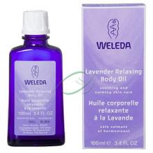 Lavender Body Oil, 3.4 OZ, Weleda Products