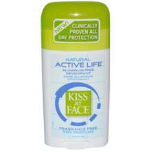 Active Life Fragrance Free, 2.48 OZ, Kiss My Face