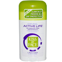 Active Life Lavender, 2.48 OZ, Kiss My Face