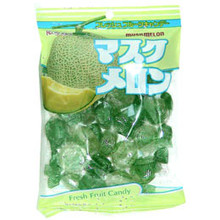 Musk Melon Candy 6.3 oz  From Kasugai