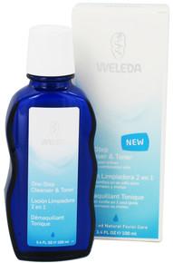 One-Step Cleanser & Toner, 3.4 OZ, Weleda Products