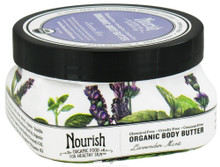 Body Butter Lavender Mist, 3.6 OZ  , Nourish