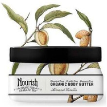 Body Butter Almond Vanilla, 3.6 OZ  , Nourish