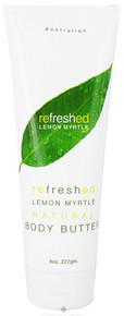 Body Butter, Lemon Myrtle, 8 OZ, Tea Tree Therapy, Inc.
