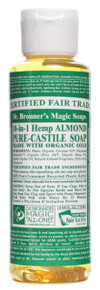 Almond, 4 OZ, Dr. Bronner'S Magic Soaps