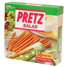 Salad Pretz Party Size 6.8 oz  From Glico