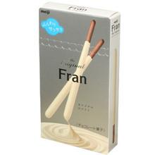 Meiji White Chocolate Fran Sticks 2.2 oz  From Meiji