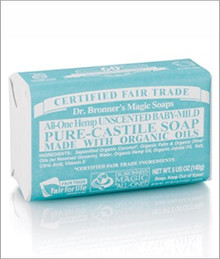 Baby Mild, Unscented, 5 OZ, Dr. Bronner'S Magic Soaps