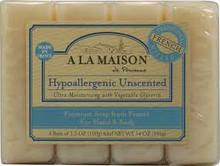 Unscented, 4pk, 1 of 4 of 3.5 OZ, A La Maison