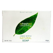 Bar Soap, Lemon Myrle Exfoliating, 3.5 OZ, Tea Tree Therapy, Inc.