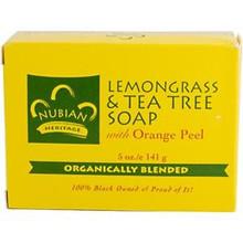 Lemongrass & Tea Tree, 5 OZ, Nubian Heritage