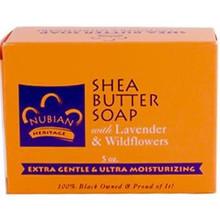Shea Butter, Lav/Wild Flower, 5 OZ, Nubian Heritage