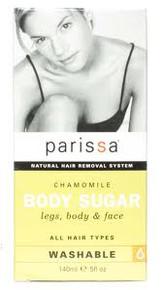 Body Sugar Chamomile, 6 OZ, Parissa