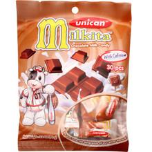 Unican Milkita Chocolate Milk Candy 3.20 oz  From Milkita