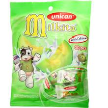 Unican Milkita Melon Milk Candy 3.20 oz  From Milkita