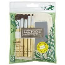 Bamboo 6pc Eye Brush Set, 1 EACH, Eco Tools