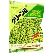 Kasugai Roasted Peas 3.35 oz  From Kasugai