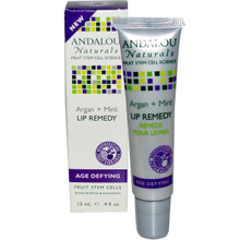 Argan + Mint Lip Remedy, 0.4 OZ, Andalou Naturals