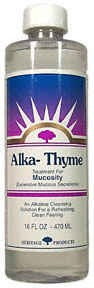 Alka Thyme, Alkaline Mouthwash, 16 OZ, Heritage Store, Inc.