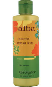 After Sun Ltn, Aloe Kona Coffee, 8.5 OZ, Alba Botanica