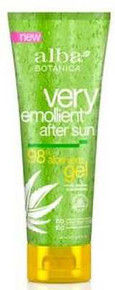 Aloe Vera 98% After Sun Gel, 8 OZ, Alba Botanica