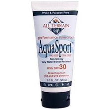AquaSport SPF 30, 3 OZ, All Terrain