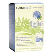 Dry & Light Incontinence Pads, 6 of 20 CT, Natracare