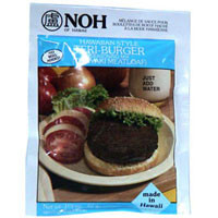 Hawaiian Teri-Burger Mix  From Noh