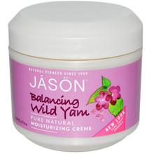 Wild Yam Moisturizing Cream, 4 OZ, Jason Natural Cosmetics