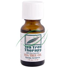 Pure Tea Tree Oil, 0.5 OZ, Tea Tree Therapy, Inc.