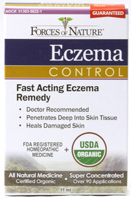 Fast Acting, Eczema Control, 11 ML, Forces Of Nature