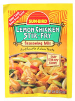 Sun Bird Lemon Chicken Stir-Fry  From Sun Bird