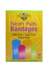 Neon Bandages, w/Antiseptic, 20 CT, All Terrain