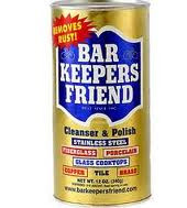 Powder, All Natural, 12 of 12 OZ, Bar Keepers Friend
