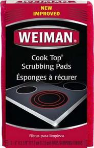 Cook Top Scrubbing Pads, 6 of 3 EA, Weiman