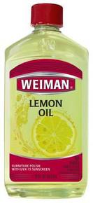 Lemon Oil W/Sunscreen, 6 of 16 OZ, Weiman