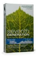 Auto Dishwash Pwdr, Free & Clear, 8 of 75 OZ, Seventh Generation