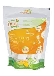 Soap, Dish, Tangerine W/Lemongrass, 6 of 24 CT, Grab Green