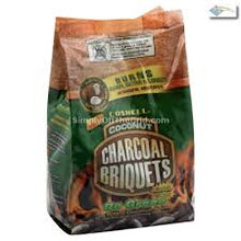 Coconut Charcoal Briquets, 6 of 3.3 LB, Coshell