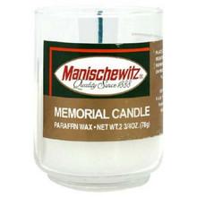 Mem Glass Tumblers, 24 of 1 OZ, Manischewitz