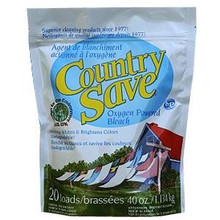 Oxygen Powdered Bleach, 12 of 2.5 LB, Country Save