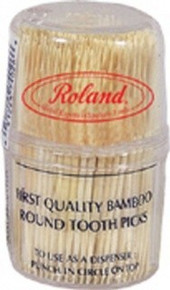 Bamboo Toothpicks, 12 of 300 CT, Roland