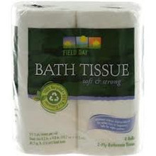 Bath Tissue, 100% Recycled, 175CT, 24 of 4 PK, Field Day