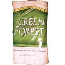Bath Tissue, 2 Ply, White, 8 of 12 PK, Green Forest