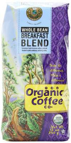 Breakfast Blend, 6 of 12 OZ, Organic Coffee Co.