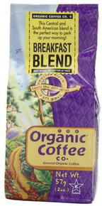 Breakfast Blend, 12 of 2 OZ, Organic Coffee Co.